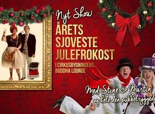 Årets sjoveste julefrokost med Stine og Martin i Buddha Lounge