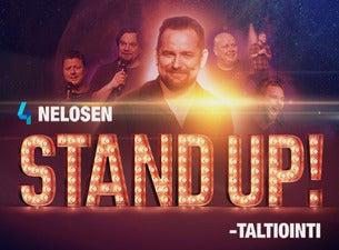 Nelosen Stand Up! - taltiointi