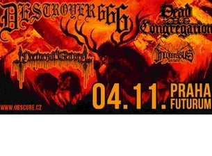 Destroyer 666, Dead Congregation, Nocturnal Graves, Inconcessus Lux Lucis