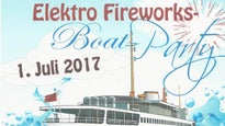 Elektro Fireworks - Boat Party
