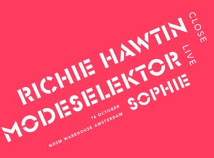 Richie Hawtin CLOSE & Modeselektor Live
