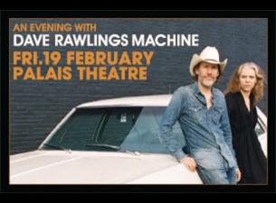 dave rawlings machine tour
