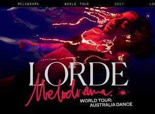 lorde world tour