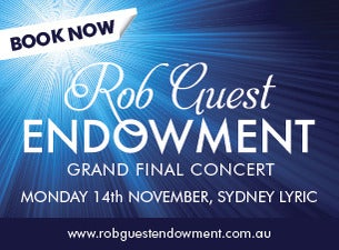 The Rob Guest Endowment Grand Final Concert