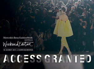 Mercedes benz fashion weekend edition tickets fashion for Mercedes benz tickets