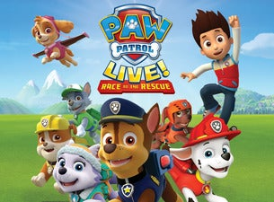 Paw Patrol Live Race To The Rescue Tickets Children S