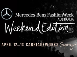 Mercedes benz fashion weekend edition tickets dates for Mercedes benz tickets