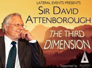Sir David AttenboroughTickets