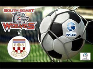 South Coast Wolves V Sydney United 58 FC