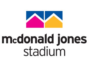 Logo for McDonald Jones Stadium
