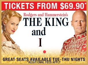 The King and ITickets