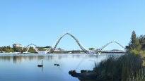 Matagarup Bridge at Optus Stadium