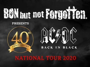 Bon But Not Forgotten: 40th Anniversary of ACDC's Back In Black