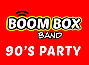 Boom Box Band - 90s Party