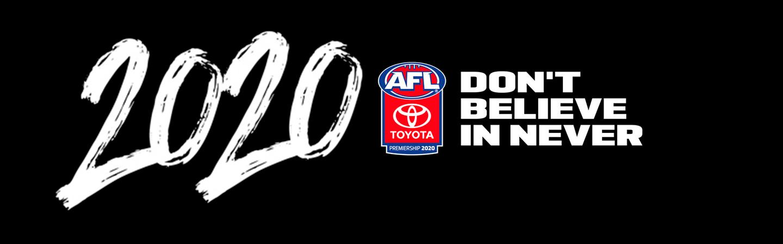 TOYOTA AFL PREMIERSHIP SEASON 2020