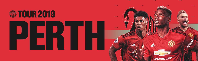47c4482e831 Manchester United 2019. MANCHESTER UNITED v PERTH GLORY