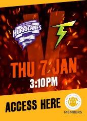 Hurricanes Vs Thunder