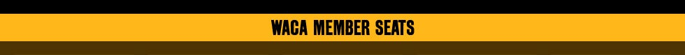 WACA Member Tickets