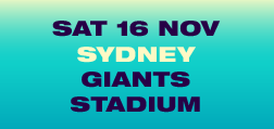SAT 16 NOV, Sydney, GIANTS STADIUM
