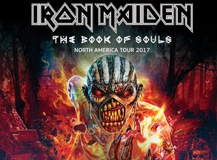 iron maiden the book of souls tour 2017 tickets iron maiden the book of souls tour 2017. Black Bedroom Furniture Sets. Home Design Ideas