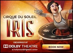 Cirque Du Soleil: IrisTickets