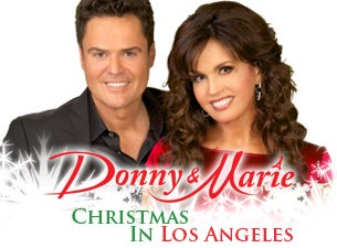 Donny & Marie - Christmas in Los AngelesTickets
