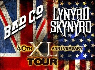 Bad Company & Lynyrd SkynyrdTickets