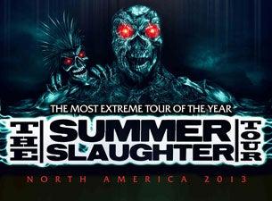 Summer Slaughter TourTickets