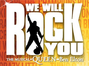 We Will Rock You (Touring)Tickets