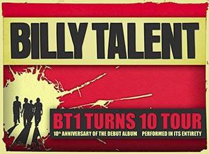 Billy TalentTickets