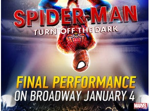 SPIDER-MAN Turn Off The Dark Tickets