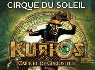 Cirque Du Soleil: KuriosTickets