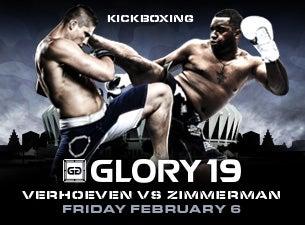 Glory KickboxingTickets