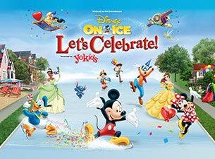 Disney On Ice presents Let's Celebrate Presented by Stonyfield YoKids Organic YogurtTickets