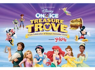 Disney On Ice presents Treasure Trove Presented by Stonyfield YoKids Organic Yogurt Tickets