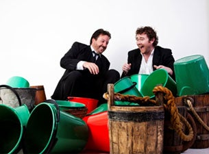 One Bucket Two Comedians