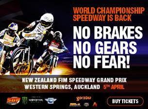 New Zealand FIM Speedway Grand PrixTickets