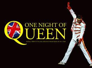 One Night Of QueenTickets