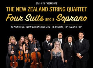 NZ String Quartet, Four Suits and a Soprano