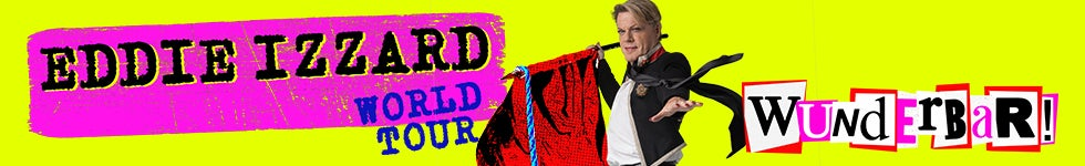 Eddie Izzard | AB Presents Presale