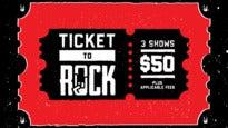 Ticket To Rock at Klipsch Music Center