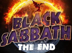 Black Sabbath The End Tour