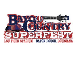 Bayou Country Superfest Tickets