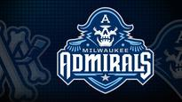 Milwaukee Admirals vs. Manitoba Moose