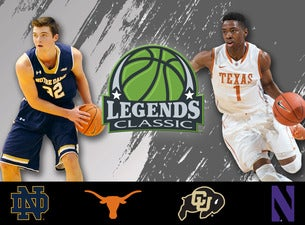 Legends Classic Basketball Doubleheader Tickets