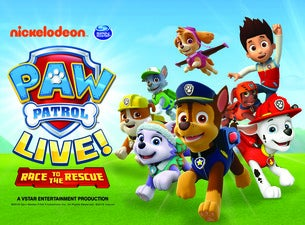 PAW Patrol Live!: Race to the Rescue Tickets