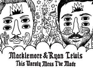 Macklemore & Ryan LewisTickets