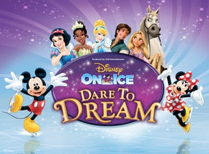 Disney On Ice Dare To Dream Tickets