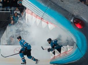 San Jose Sharks Take Bite Out Of Las Vegas Golden Knights Even Stanley Cup Playoff 2 Abc7news