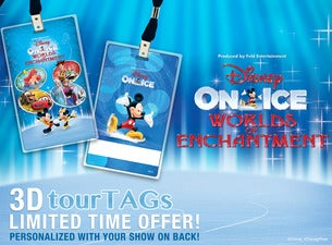 Disney on Ice Worlds Of Enchantment - Official Souvenir Tag